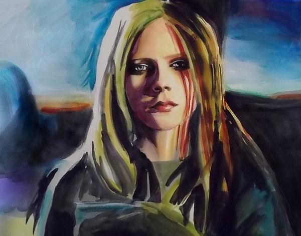 Avril Lavigne por DAYONE